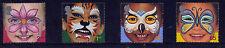 2001 GB NUOVO MILLENNIO DIRITTI DEL BAMBINO FACCIA dipinti SET Gomma integra, non linguellato