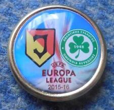 JAGIELLONIA BIALYSTOK -OMONIA NICOSIA EUROPA LEAGUE 2015/16 FOOTBALL SOCCER PIN