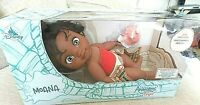 "DISNEY ANIMATORS' COLLECTION ORIGINS, ""BABY DOLL MOANA"" W/BLANKET & SHELL  11"""