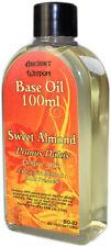 Sweet Almond Aromatherapy Base Carrier Oil 100ml Prunus Dulcis cold pressed