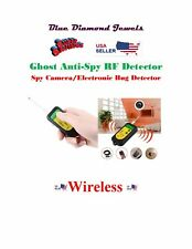 Wireless Anti-Spy Detector RF-Hidden Camera-Hidden Microphone USA SELLER!
