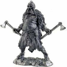 *Berserker, 9-10 centuries* Tin toy soldiers miniature statue. metal sculpture