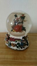 Musical Water Snow Globe Skaters