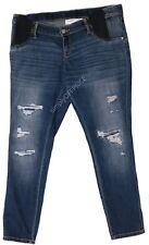 Maternity Jeans Medium Wash Blue Size XXL Women Under The Belly by Liz Lange