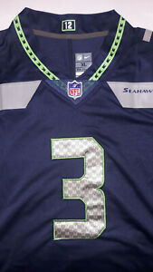 Russell Wilson signed NFL Seahawks Jersey XL
