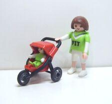 Playmobil Mama mit Baby-Jogger / Kinderwagen, 4697