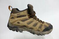 MERRELL Moab Mid Waterproof Brown Sz 10 M Men Hiking Boots