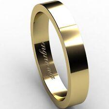 Markenlose Herren-Ringe im Band-Stil aus Gelbgold