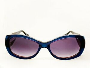 NUOVO OCCHIALI DA SOLE LAFONT MOD: HAWAI COL: BLU/RED COL: SHADED BROWN
