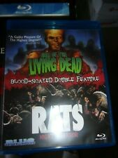 HELL OF THE LIVING DEAD/ RATS: NIGHT OF TERROR  - BLU-RAY- WATCHED ONCE!!