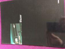 Catalogue dépliant brochure Prospekt CHEVROLET BLAZER 18 PAGES ANNEE 1997