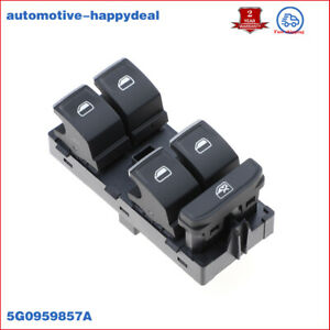 Front Left Electric Window Control For Seat Leon Cupra 280 2014 5G0959857A