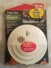 Vintage First Alert Smoke Detector With MatchBox Fire Truck NEW SEALED
