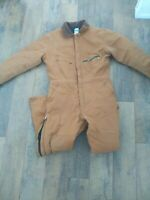 Key Outerwear Insulated Coveralls Size Medium Large Jumpsuit