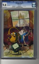 Adventure Time # 5 Virgin Cover D - CGC 9.8 WHITE  Pages - Finn & Jake