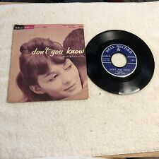 PS06 45RPM Bell Records W/ Pic Slv Don't You Know / Say Man Bell 123