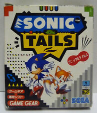 SONIC & TAILS - SEGA GAME GEAR  NTSC JAPAN BOXED
