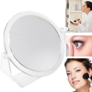 3x MAGNIFYING MIRROR Small Round Double Sided Make Up/Cosmetic /Shave/Shaving