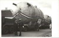 Austria - Giant Trucks Carrying Equipment Kirchner & Co Real Photo Postcard