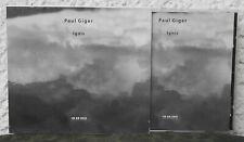 PAUL GIGER – Ignis  ECM New Series   CD