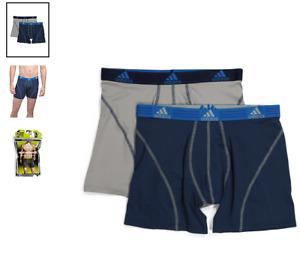 Men's adidas Sport Performance (Night Indigo) Boxer Brief (2- Pack) Underwear
