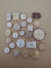 lotto 23 movimenti orologi vintage longines avia technos certina vetta watch
