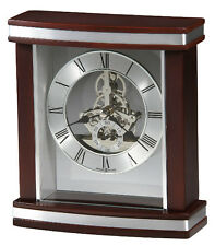 (New!) TEMPLETON Quartz Skeleton Desk Table Mantel Clock Howard Miller 645-673