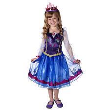 Disney Frozen Enchanting Anna Dress Girl's Play Dress-up Size 4-6X NEW!