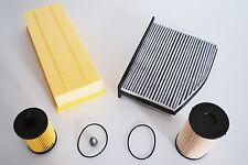 Inspektionspaket Filterpaket passend für VW Passat 3C2 3C5 2.0 TDI 103KW 140PS