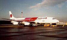 Hawaiian Airlines DC-8-62 at Naples, Italy 1990
