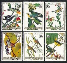 Cook Islands 1985 Birds/Nature/Audubon/Art 6v (n31453)