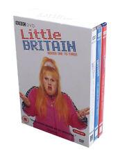 LITTLE BRITAIN 1-3 NEW REGION 2 DVD