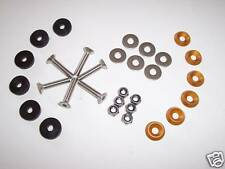 Kart Sol Plateau Kit de fixation or couronne tchécoslovaque Rondelles Neuf Karting Kart parts UK