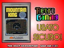 MOUNTAIN KING CBS COLECOVISION COMPLETO USATO SICURO!
