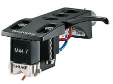 Shure M44-7H Cartridges MOUNTED On Technics Headshells - PAIR