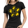 Schere Stein Papier Echse Spock The Big Bang Theory TBBT Damen Girlie T-Shirt