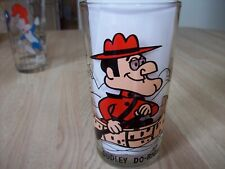 WENDY NEVER USED 8 OZ GLASS NEW PEPSI COLLECTOR SERIES