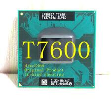 Intel Core 2 Duo T7600 (SL9SD) 2.33GHz / 4M / 667 MHz / Notebook processor