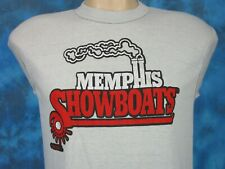 New listing vtg 80s Memphis Showboats Usfl Paper Thin Muscle T-Shirt M football tennessee