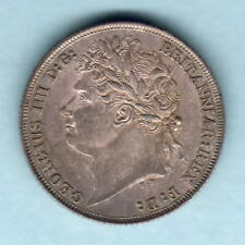 New listing Great Britain. 1821 George 1111 - Shilling. Much Lustre - gEf/aUnc