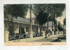 1906 Pretoria South Africa Picture Postcard Cover to USA President Kruger Home