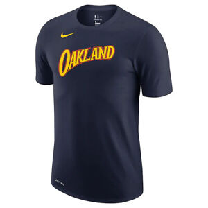 New 2021 NBA Golden State Warriors Nike City Edition Essential Logo T-Shirt NWT