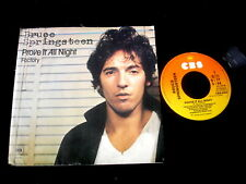 "BRUCE SPRINGSTEEN/PROVE IT ALL NIGHT/FACTORY/RARE PERFECT HOLLAND PRESS 7"" SP"