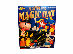 Marvin's Magic Hat 155 Magician Tricks Rabbit with Instructions Kids