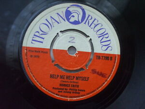 Horace Faith - Black Pearl / Help Me Help Myself - Trojan TR 7790 U.K 45