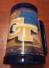 Georgia Tech Yellow Jackets Gel Freezer Mug 16 oz.  Double Wall Two Sided Cup