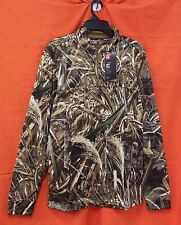 UNDER ARMOUR Storm Icon Camo 1/4 Zip L/S Men's (2XL) #1291448-900 Realtree Max-5