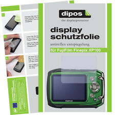 2x Fujifilm Finepix XP100 Schutzfolie matt Displayschutzfolie Antireflex