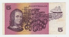 $5 Paper Banknote Australia Fraser Johnston  PPZ Series L-204
