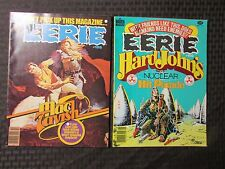 1979 EERIE Warren Horror Magazine LOT of 2 #105  VF- 106 VF-